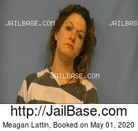 MEAGAN LATTIN mugshot picture