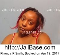 RHONDA R SMITH mugshot picture