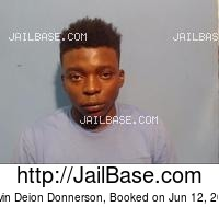DEVIN DEION DONNERSON mugshot picture
