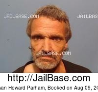 DEVAN HOWARD PARHAM mugshot picture