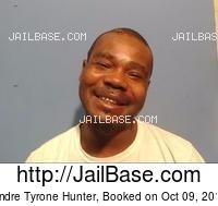 ANDRE TYRONE HUNTER mugshot picture