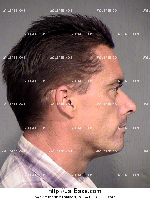 mark garrison mug shot image