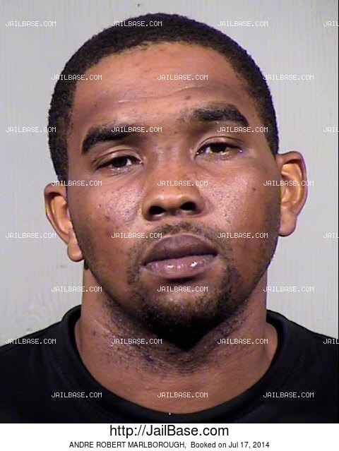 Andre robert marlborough arrested on july 17 2014 for Andre robert