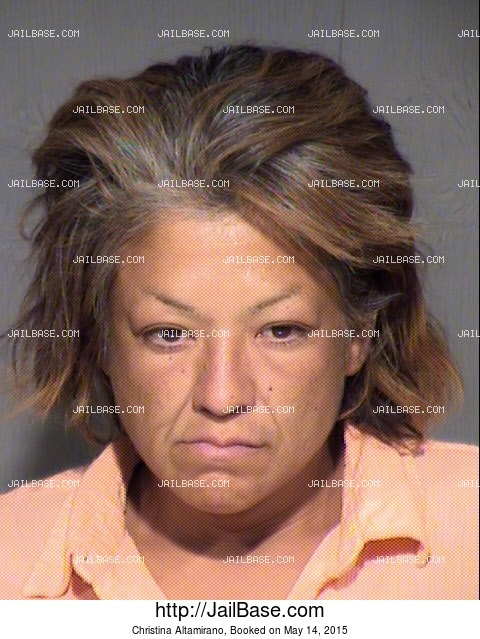 CHRISTINA ALTAMIRANO mugshot picture