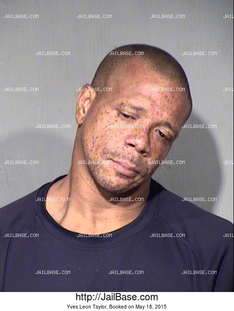 YVES LEON TAYLOR mugshot picture