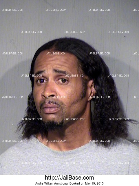 ANDRE WILLIAM ARMSTRONG mugshot picture