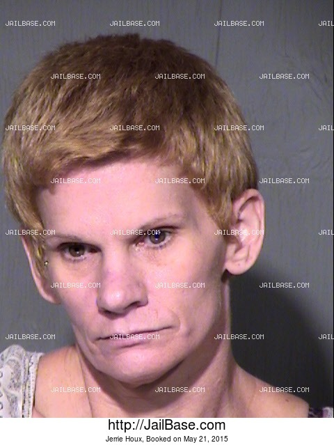 JERRIE HOUX mugshot picture