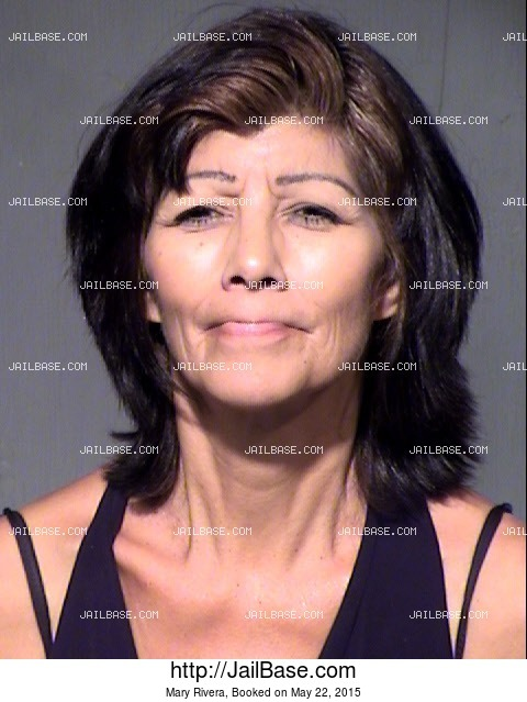 MARY RIVERA mugshot picture