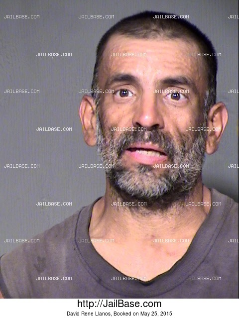 DAVID RENE LLANOS mugshot picture