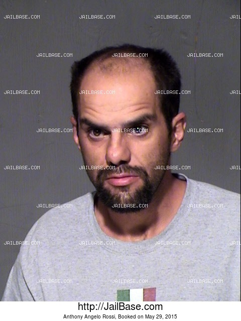 ANTHONY ANGELO ROSSI mugshot picture