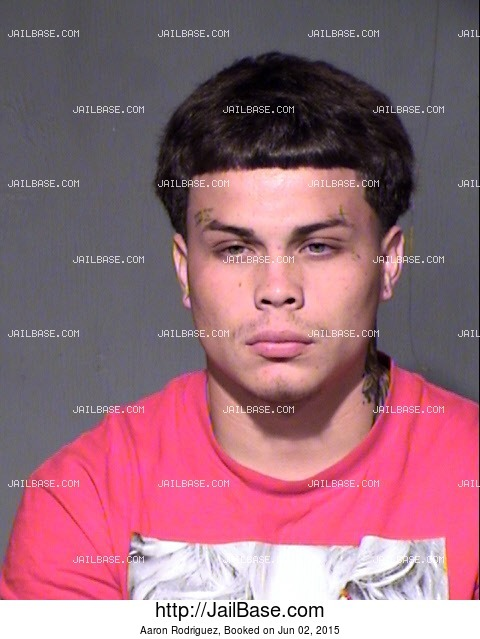 AARON RODRIGUEZ mugshot picture