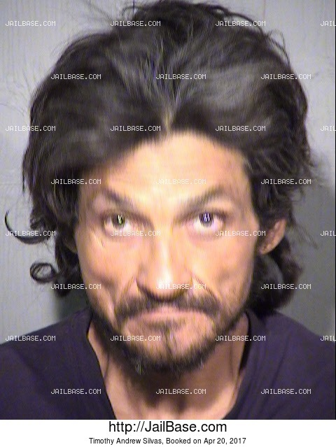 Timothy Andrew Silvas mugshot picture