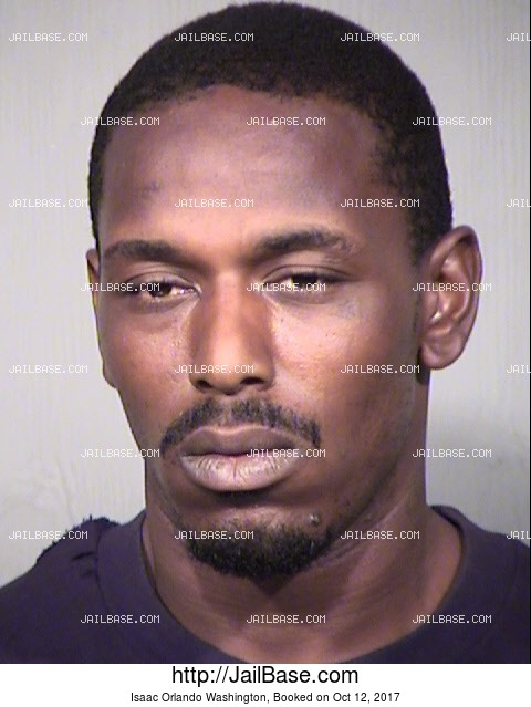 Isaac Orlando Washington mugshot picture