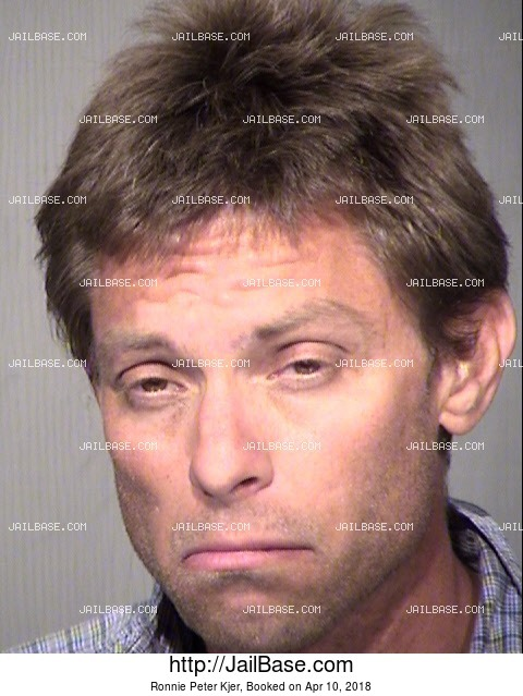 Ronnie Peter Kjer mugshot picture