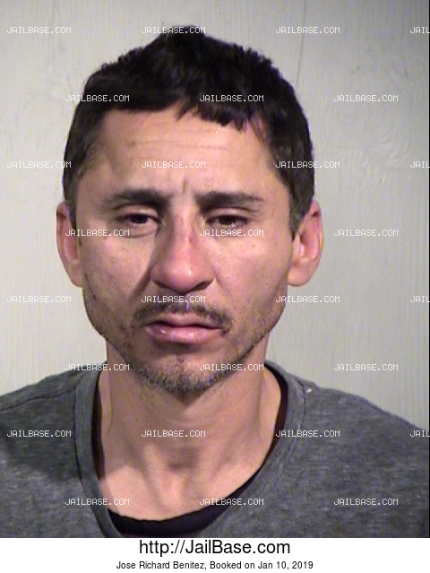 Jose Richard Benitez mugshot picture