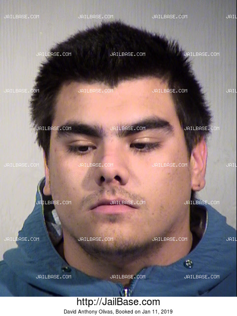 David Anthony Olivas mugshot picture