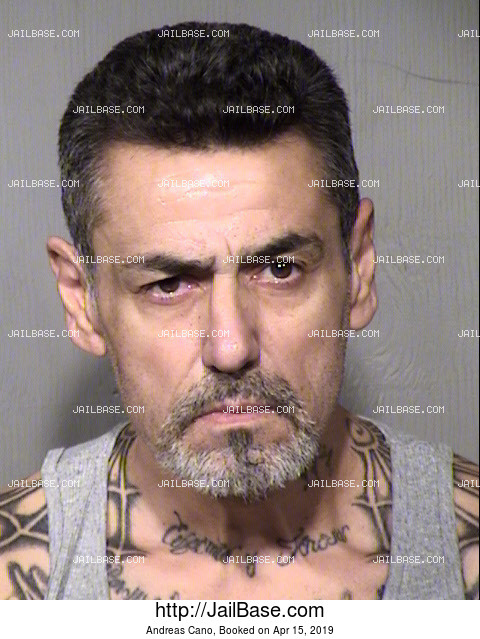 Andreas Cano mugshot picture