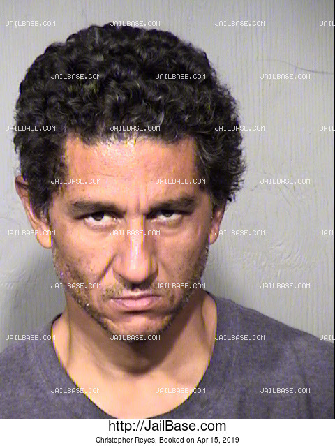 Christopher Reyes mugshot picture