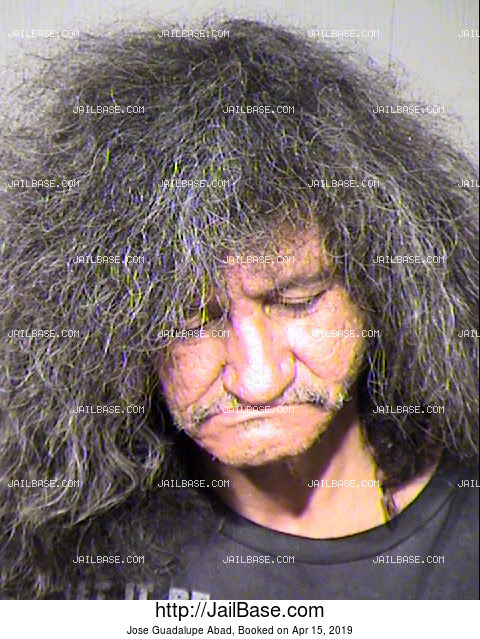 Jose Guadalupe Abad mugshot picture