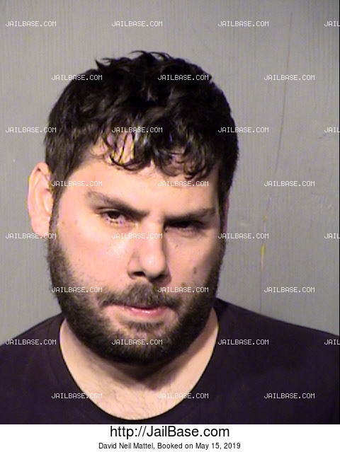 David Neil Mattel mugshot picture
