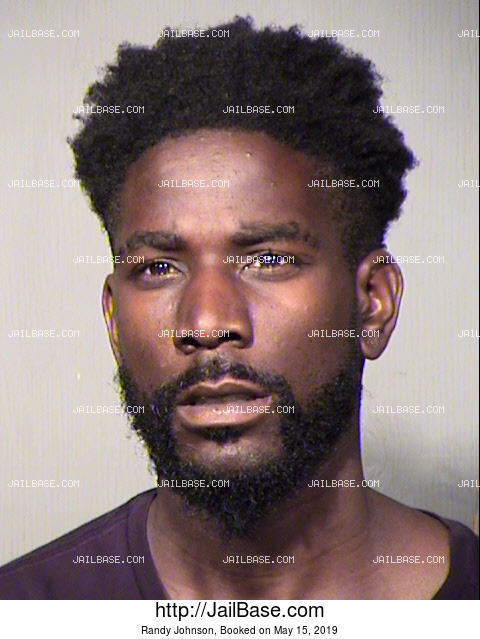 Randy Johnson mugshot picture
