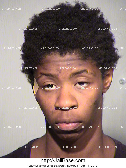 Lady Leatricdevona Stallworth mugshot picture