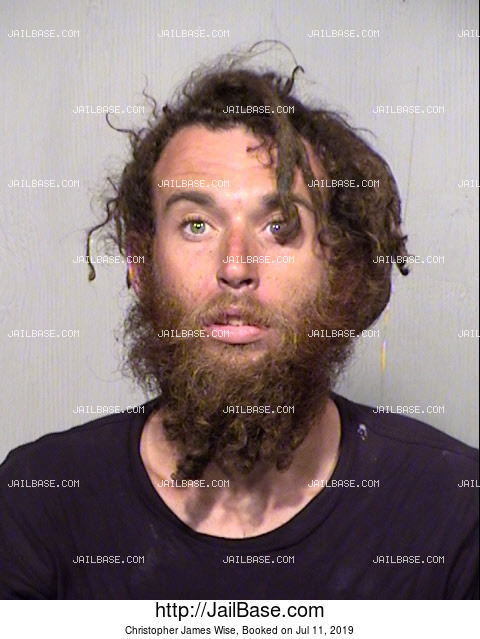 Christopher James Wise mugshot picture