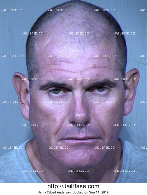 Jeffry Gilbert Anderson mugshot picture