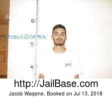 Jacob Waqene mugshot picture