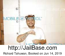 Richard Tahuwan mugshot picture