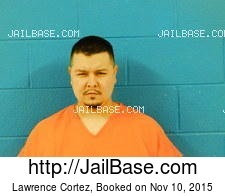 Lawrence Cortez mugshot picture