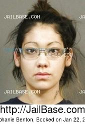 Stephanie Benton mugshot picture