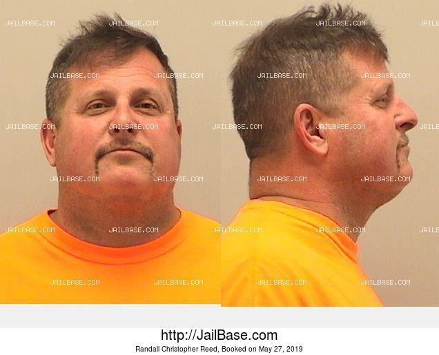 RANDALL CHRISTOPHER REED mugshot picture