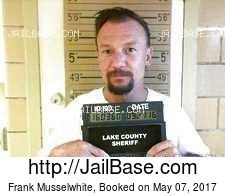 Frank Musselwhite mugshot picture