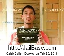 Caleb Bailey mugshot picture