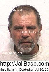 Jeffrey Hamerly mugshot picture