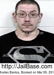 Charles Barrios mugshot picture