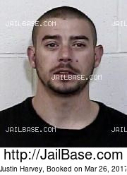 Justin Harvey mugshot picture
