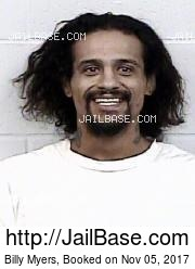 Billy Myers mugshot picture
