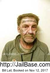 Bill Lail mugshot picture
