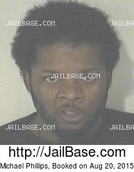 Michael Phillips mugshot picture