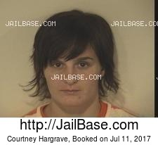Courtney Hargrave mugshot picture