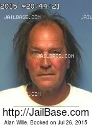 Alan Wille mugshot picture