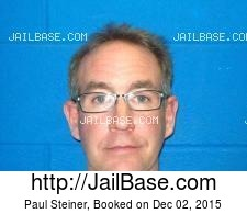 Paul Steiner mugshot picture