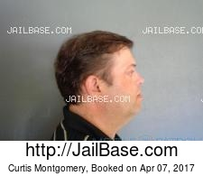 Curtis Montgomery mugshot picture