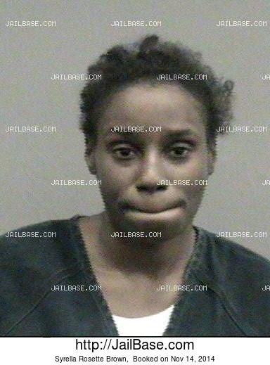 Syrella Rosette Brown mugshot picture