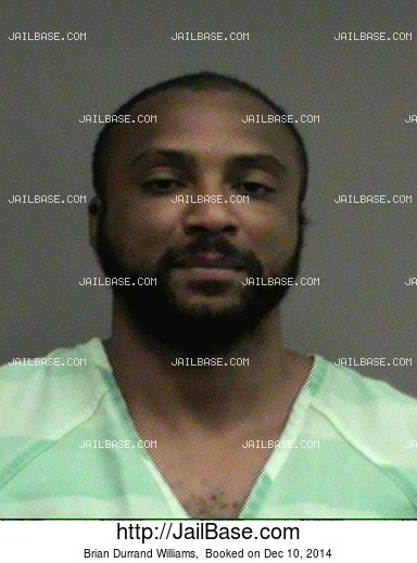 Brian Durrand Williams mugshot picture