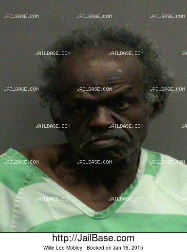 Willie Lee Mobley mugshot picture