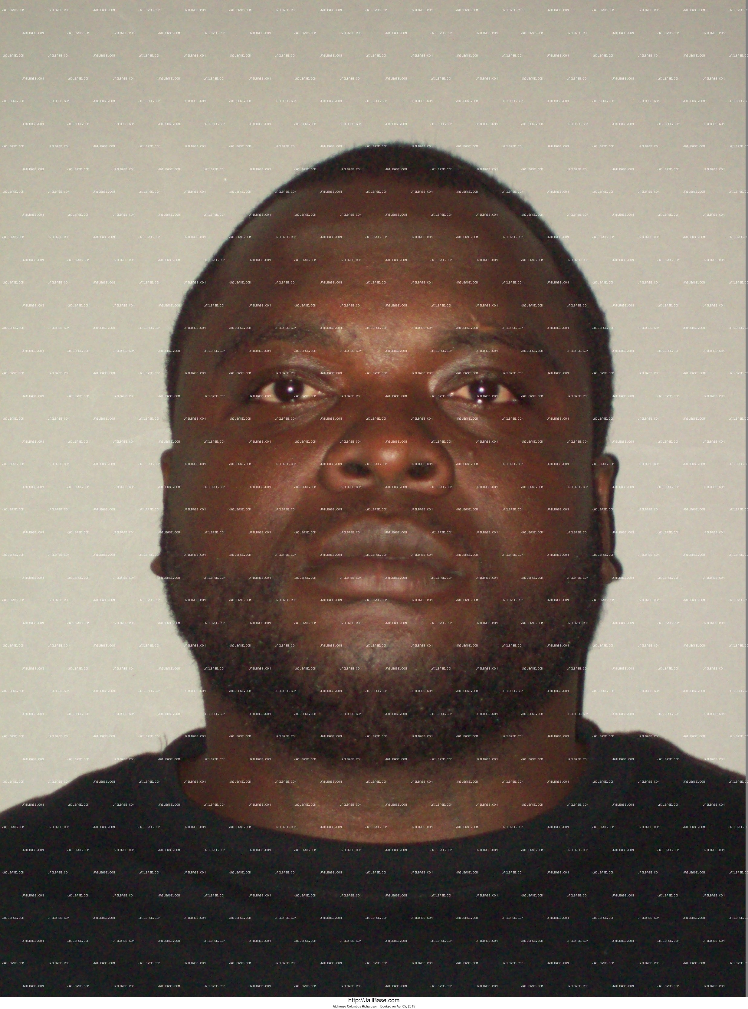 Alphonso Columbus Richardson mugshot picture