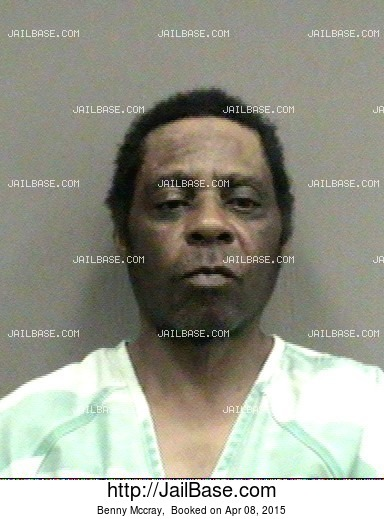 Benny Mccray mugshot picture